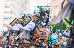 Καρναβάλι Badajoz 2016 Στοκ φωτογραφία με δικαίωμα ελεύθερης χρήσης