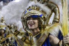Καρναβάλι 2017 - Uniao DA Ilha Στοκ Εικόνες