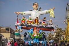 Καρναβάλι Viareggio Στοκ Εικόνα