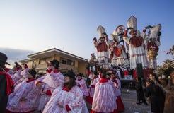 Καρναβάλι Viareggio Στοκ Φωτογραφίες