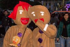 Καρναβάλι 2016 Viareggio Στοκ Φωτογραφίες