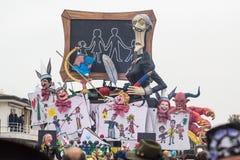 Καρναβάλι 2016 Viareggio Στοκ Φωτογραφία