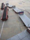 καροτσάκια αποσκευών Στοκ εικόνες με δικαίωμα ελεύθερης χρήσης