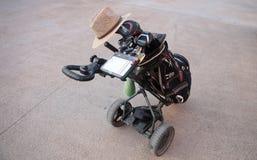 Καροτσάκια γκολφ στοκ εικόνα με δικαίωμα ελεύθερης χρήσης