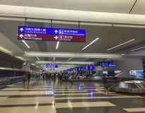 Καροτσάκια στο διεθνή αερολιμένα της Ταϊπέι Στοκ Εικόνα