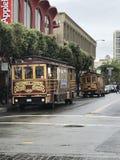 Καροτσάκια του Σαν Φρανσίσκο Στοκ φωτογραφία με δικαίωμα ελεύθερης χρήσης