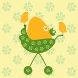 καροτσάκι αυγών Στοκ εικόνες με δικαίωμα ελεύθερης χρήσης