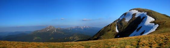 Καρπάθια βουνά Στοκ Εικόνες