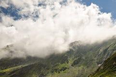 Καρπάθια βουνά, Fagaras, Ρουμανία Στοκ Εικόνες
