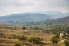 Καρπάθια κοιλάδα της Ουκρανίας βουνών Στοκ εικόνες με δικαίωμα ελεύθερης χρήσης