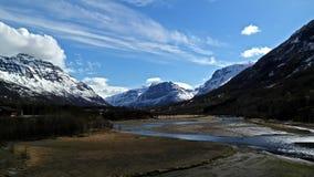 Καρπάθια κοιλάδα της Ουκρανίας βουνών Στοκ εικόνα με δικαίωμα ελεύθερης χρήσης
