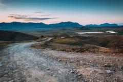 Καρπάθια κοιλάδα της Ουκρανίας βουνών Στοκ φωτογραφίες με δικαίωμα ελεύθερης χρήσης