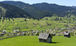 Καρπάθιο τοπίο Ρουμανία Στοκ εικόνα με δικαίωμα ελεύθερης χρήσης