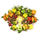 καρποί ΓΤΟ διανυσματική απεικόνιση