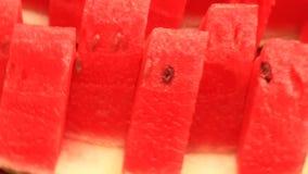 Καρπούζι περικοπών στα κομμάτια φιλμ μικρού μήκους