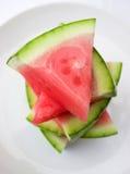 καρπούζι φετών στοκ εικόνα