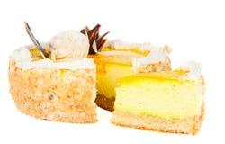 καρπός κέικ που απομονώνεται Στοκ εικόνα με δικαίωμα ελεύθερης χρήσης