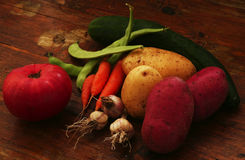 Καρπός και λαχανικά Στοκ Εικόνα