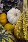καρπός καλαθιών φθινοπώρ&omicron Στοκ φωτογραφία με δικαίωμα ελεύθερης χρήσης