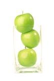 καρπός μήλων που απομονών&epsilo Στοκ φωτογραφία με δικαίωμα ελεύθερης χρήσης