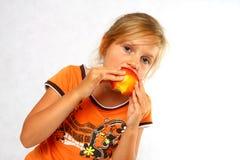 καρπός παιδιών ευτυχής Στοκ εικόνα με δικαίωμα ελεύθερης χρήσης