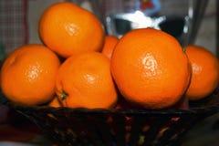καρπός τροπικός Πορτοκαλί tangerine στοκ εικόνες