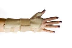καρπός υποστήριξης χεριών Στοκ εικόνες με δικαίωμα ελεύθερης χρήσης