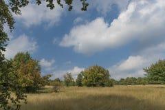 Καρστ της Σλοβακίας στη θερινή καυτή ημέρα Στοκ φωτογραφία με δικαίωμα ελεύθερης χρήσης