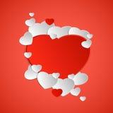 καρτών ημέρας σχεδίου dreamstime πράσινο καρδιών διάνυσμα βαλεντίνων απεικόνισης s τυποποιημένο Στοκ Εικόνες