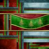 καρτών χρησιμοποιημένο πλέγμα διάνυσμα χαιρετισμού κλίσης Χριστουγέννων κομψό Στοκ Εικόνες