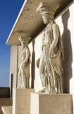 Καρυάτιδα στο αρχαιολογικό μουσείο Στοκ Εικόνες