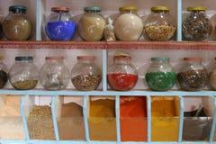καρυκεύματα βάζων Στοκ εικόνα με δικαίωμα ελεύθερης χρήσης