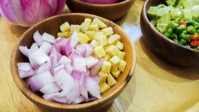 Καρυκεύματα για μαγειρεύοντας Ταϊλανδό Στοκ Φωτογραφίες