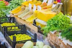 Καρυκεύματα για τα τρόφιμα Στοκ Εικόνα