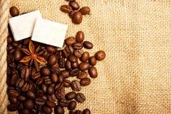 καρυκεύματα καφέ Στοκ Εικόνες