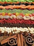 καρυκεύματα ξηρών καρπών Στοκ φωτογραφία με δικαίωμα ελεύθερης χρήσης