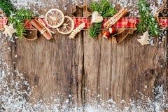 καρυκεύματα Χριστουγέν&nu Στοκ Εικόνα