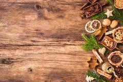καρυκεύματα Χριστουγέν&nu Στοκ Φωτογραφίες