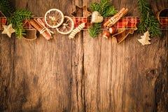 καρυκεύματα Χριστουγέν&nu Στοκ εικόνες με δικαίωμα ελεύθερης χρήσης