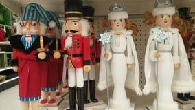 Καρυοθραύστης χαρακτήρα Χριστουγέννων για τη διασκέδαση διακοπών Στοκ εικόνες με δικαίωμα ελεύθερης χρήσης