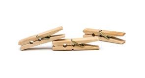 καρφίτσα ενδυμάτων ξύλινη Στοκ εικόνες με δικαίωμα ελεύθερης χρήσης