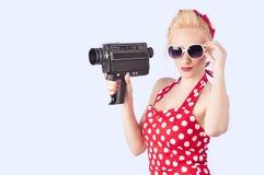 Καρφίτσα-επάνω στο κορίτσι στοκ εικόνα με δικαίωμα ελεύθερης χρήσης