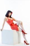 Καρφίτσα-επάνω στο μοντέλο στοκ φωτογραφία με δικαίωμα ελεύθερης χρήσης