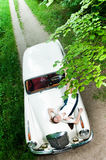 Καρφίτσα-επάνω στο ορισμένο κορίτσι Στοκ εικόνες με δικαίωμα ελεύθερης χρήσης