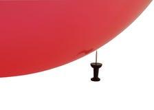 καρφίτσα μπαλονιών στοκ εικόνες με δικαίωμα ελεύθερης χρήσης