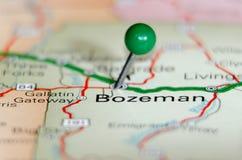 Καρφίτσα πόλεων Bozeman Στοκ Εικόνες