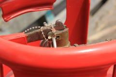 Καρφίτσα του πυροσβεστήρα Στοκ φωτογραφία με δικαίωμα ελεύθερης χρήσης