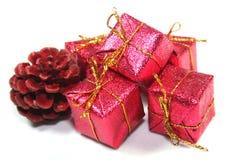 καρφίτσες Χριστουγέννων Στοκ Εικόνες