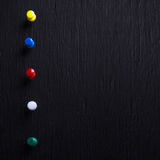 Καρφίτσες χρώματος Στοκ φωτογραφία με δικαίωμα ελεύθερης χρήσης
