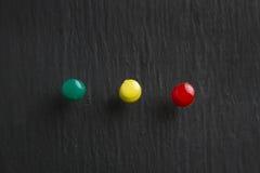 Καρφίτσες χρώματος Στοκ Φωτογραφίες